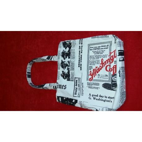 Látková taška - noviny